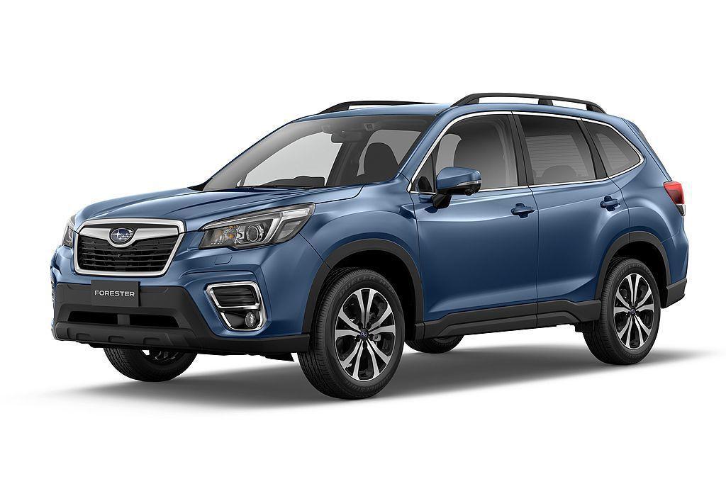 雖然全新第五代Subaru Forester要到買到109.8萬元的車型才有Ey...
