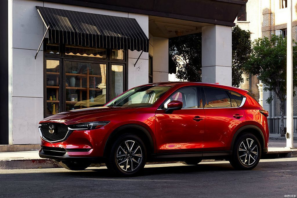 Mazda CX-5要買到環景旗艦版,才會有最完善的安全防護科技。 圖/Mazd...