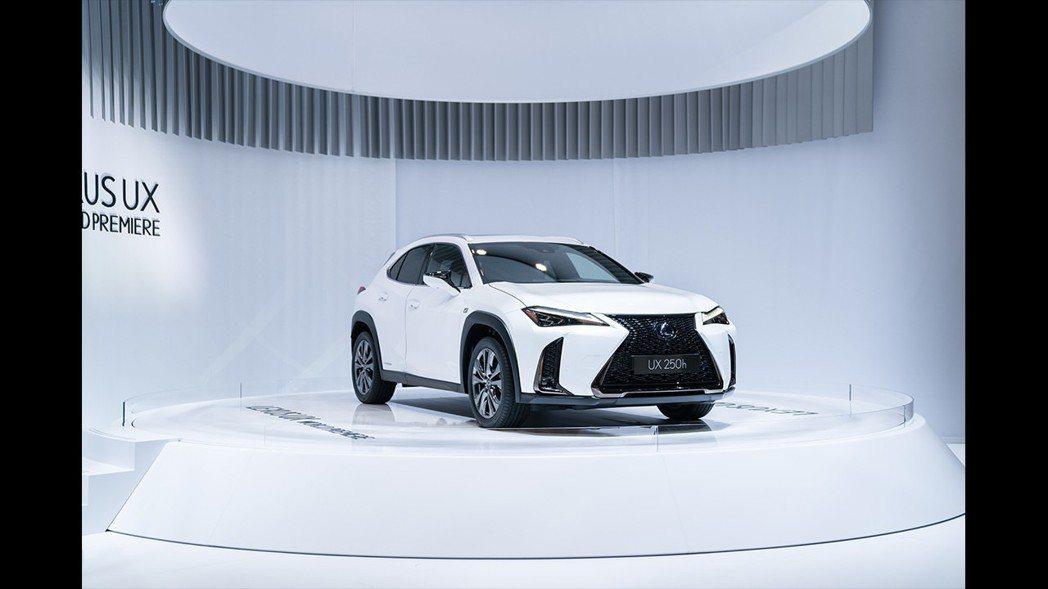 全新Lexus UX也預計在今年第四季導入台灣。 摘自Lexus