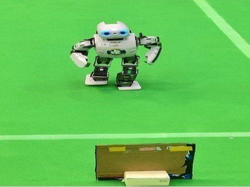 Sprint機器人來回競走。 中科管理局/提供