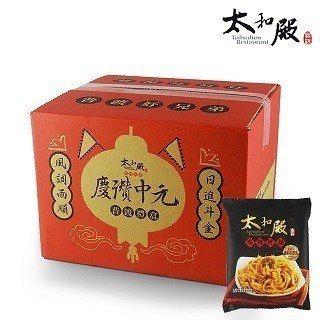 熱銷泡麵速食乾麵TOP1太和殿麻辣拌麵。 PChome24h購物/提供
