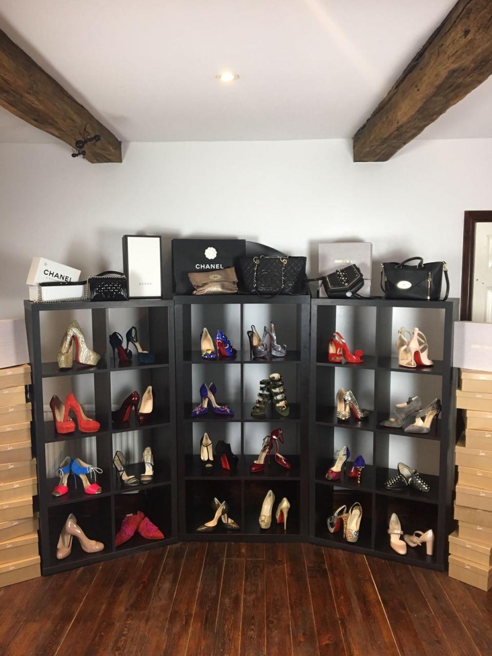 瓊斯特別愛品牌鞋,Christian Louboutin是她的最愛。 擷自太陽報