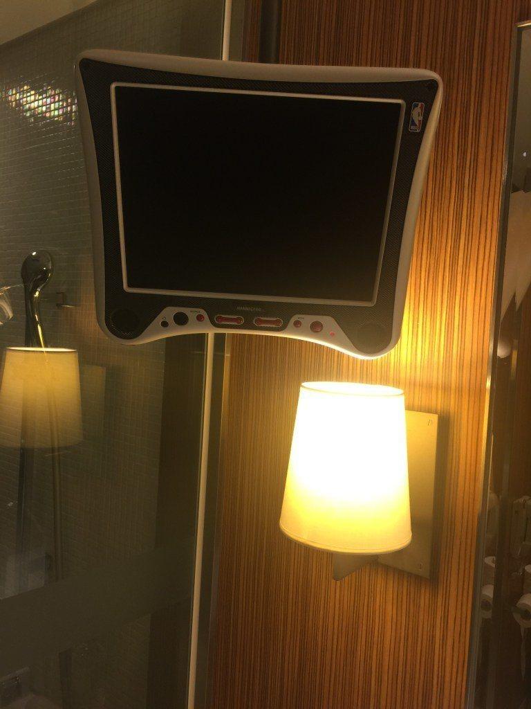 浴室內也有電視可以看 圖文來自於:TripPlus