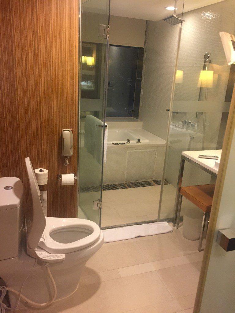 其實浴室的整體的空間不算太小 圖文來自於:TripPlus