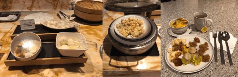 新加坡航空銀刃貴賓室的早餐 圖文來自於:TripPlus