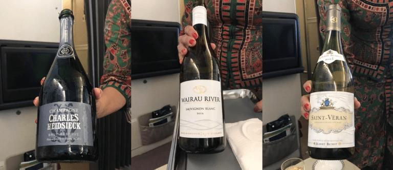 香檳與白酒部分(從左到右):香檳-Charles Heidsieck Brut ...