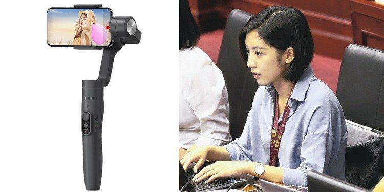 飛宇Feiyu Vimble 2三軸手持穩定器、學姐照為示意圖。圖/廠商提供、聯...