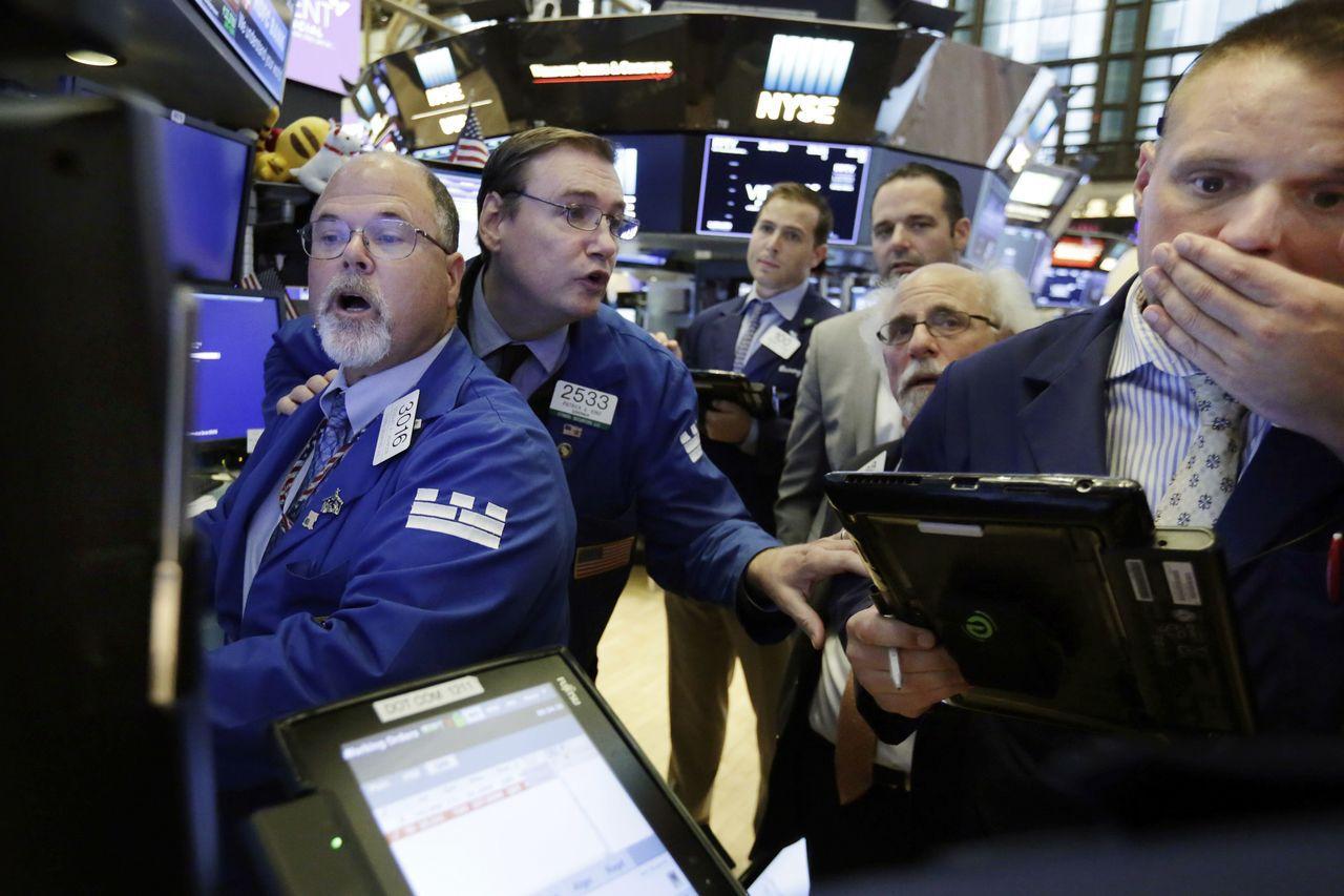 華盛頓和北京相繼宣布開始加徵關稅的具體日期,美國股市周三開盤即走低。美聯社