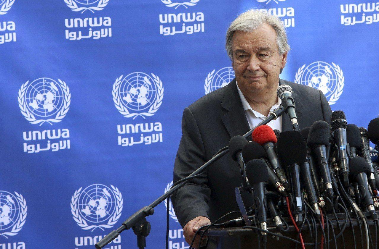 聯合國秘書長古特瑞斯強調聯合國致力廢除核武的決心,他表示,近年擁核國家軍縮遲遲沒...