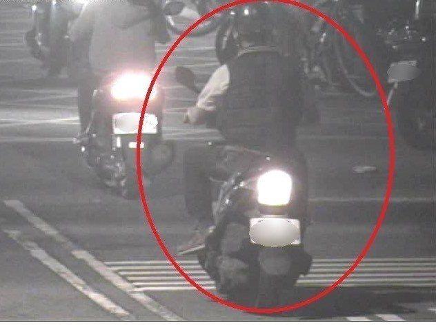 台中警方查獲肇事逃逸車禍。記者游振昇/翻攝
