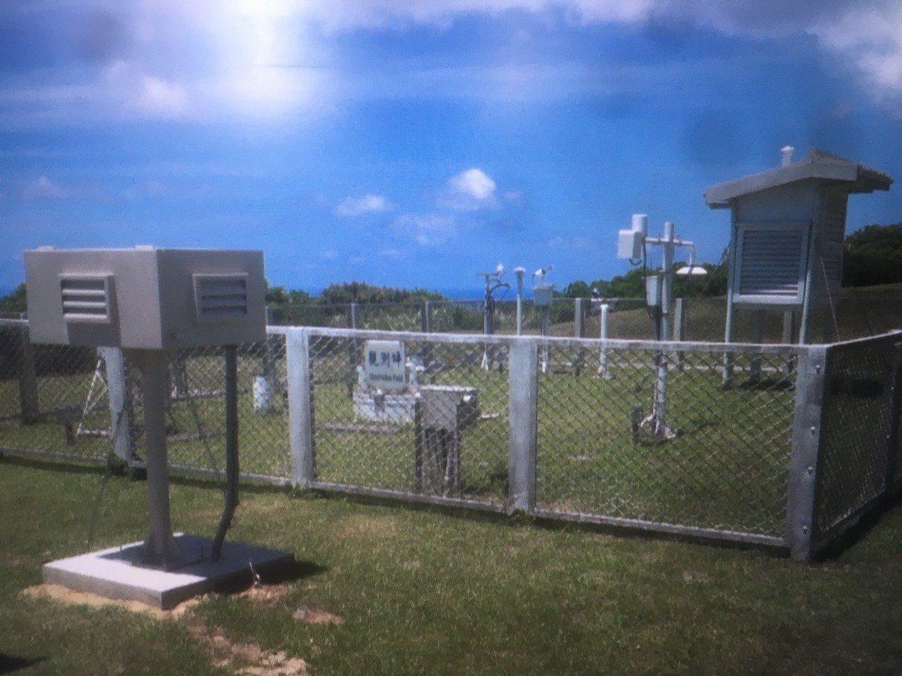 台東蘭嶼氣象站近來有少部分遊客不當的脫序行為,闖入觀測坪內觸碰儀器,導致儀器損壞...