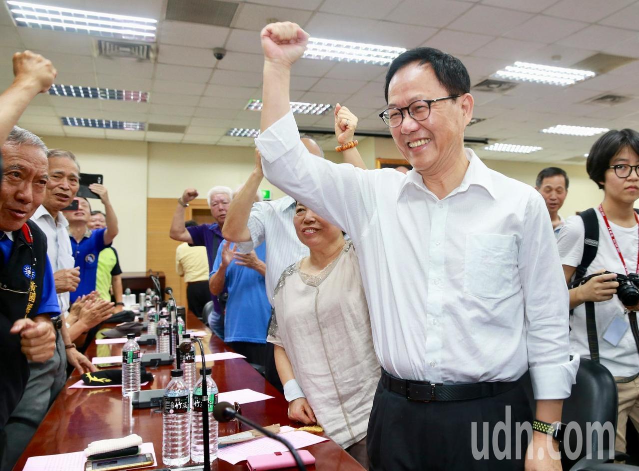 國民黨台北市長參選人丁守中。聯合報系記者黃義書/攝影
