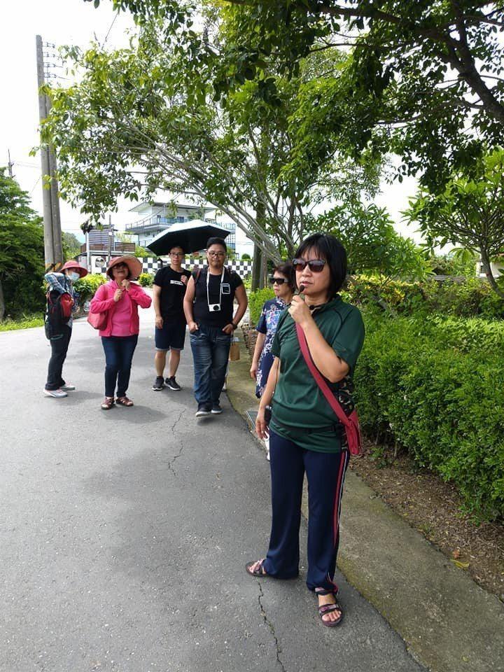 大林鎮上林社區開發梔子花產品,並開發社區小旅行。圖/上林社區提供