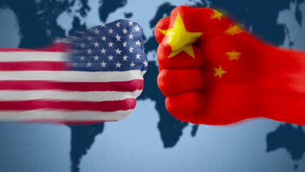 中美貿易戰戰火日益延燒,人民日報發文稱,中國將沈著應對。(法廣照片)