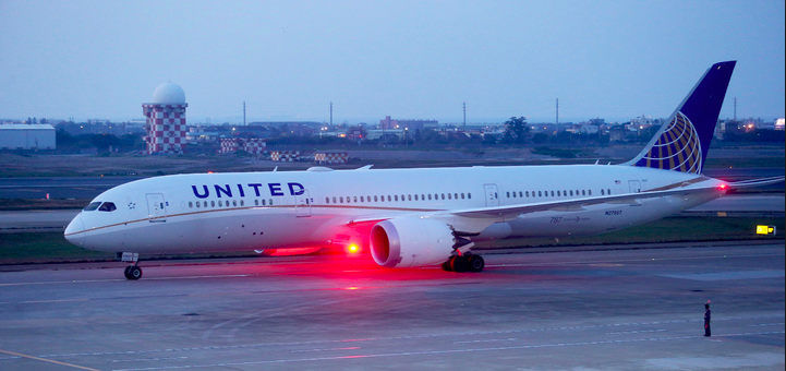 美國聯合航空。聯合新聞網資料照片