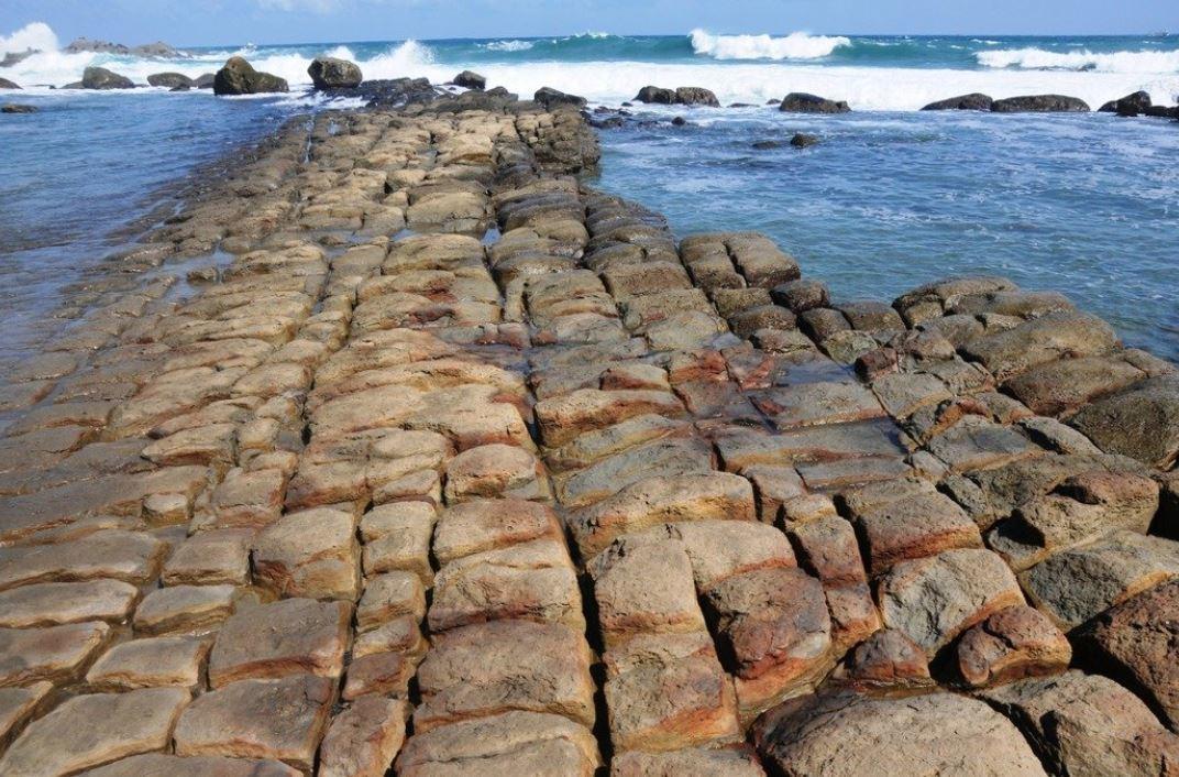 和平島阿拉寶灣神秘面紗,月初揭開了。記者吳淑君/攝影