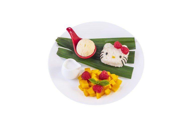 「椰汁芒果糯米飯」售價港幣99元。圖/滿記甜點提供