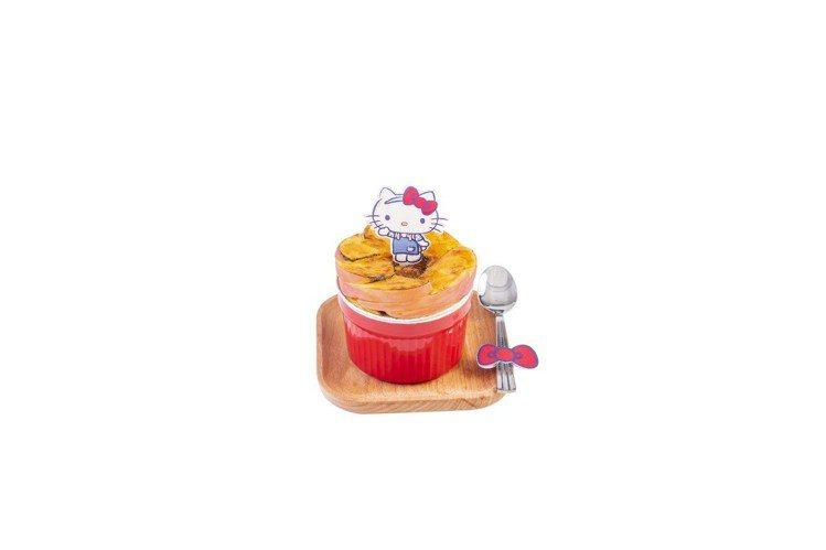 「焗蘋果西米布甸」售價港幣66元。圖/滿記甜點提供