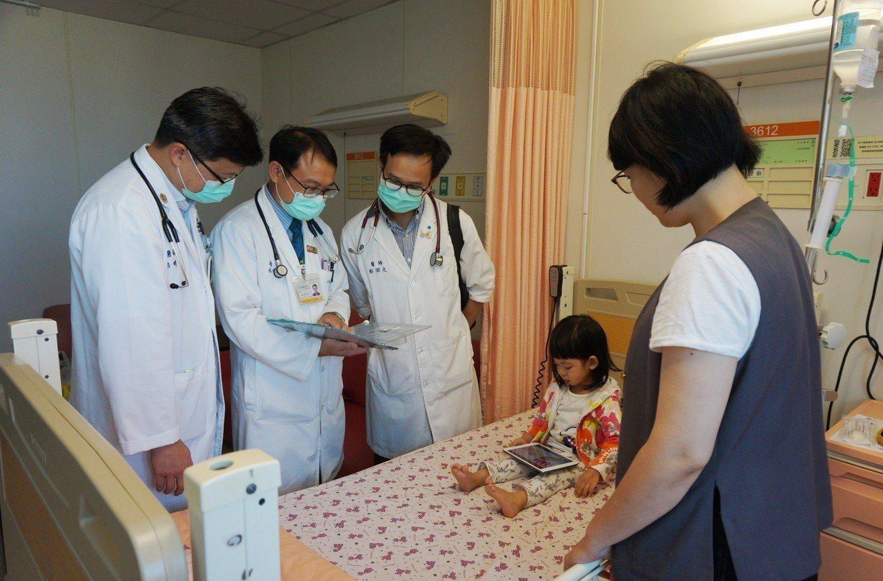 以兒科見長的新竹馬偕,宣布9月起全時段兒科急診醫療服務。 圖馬偕/提供