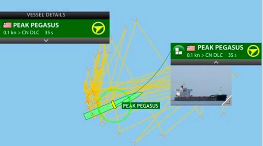 死線前趕進關失敗,美大豆貨輪「Peak Pegasu」一個多月來一直在外海繞圈。...