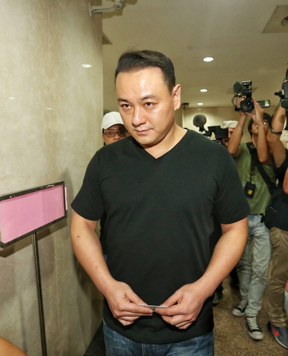 統促黨黨員張瑋。記者鄭清元/攝影。