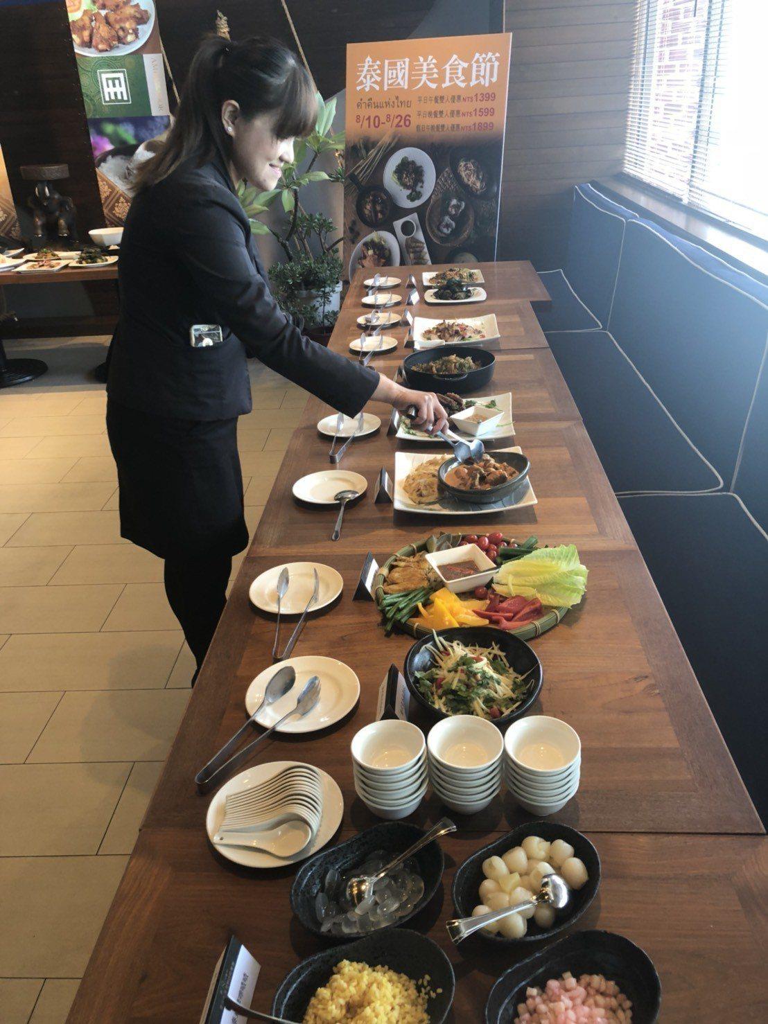 高雄國賓「泰國美食節」78折,比旅展還優惠。 記者林政鋒/攝影