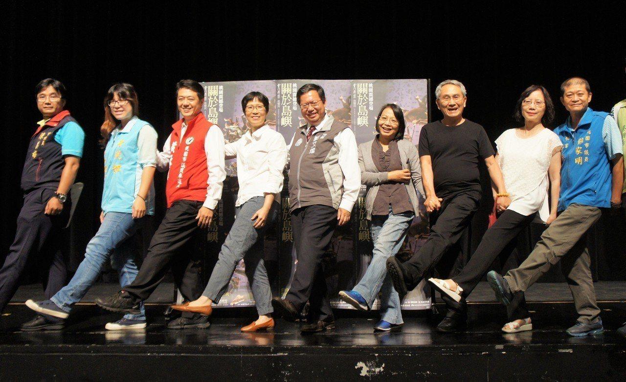 雲門舞集將於11日在桃園展演中心進行戶外公演。記者李京昇/攝影