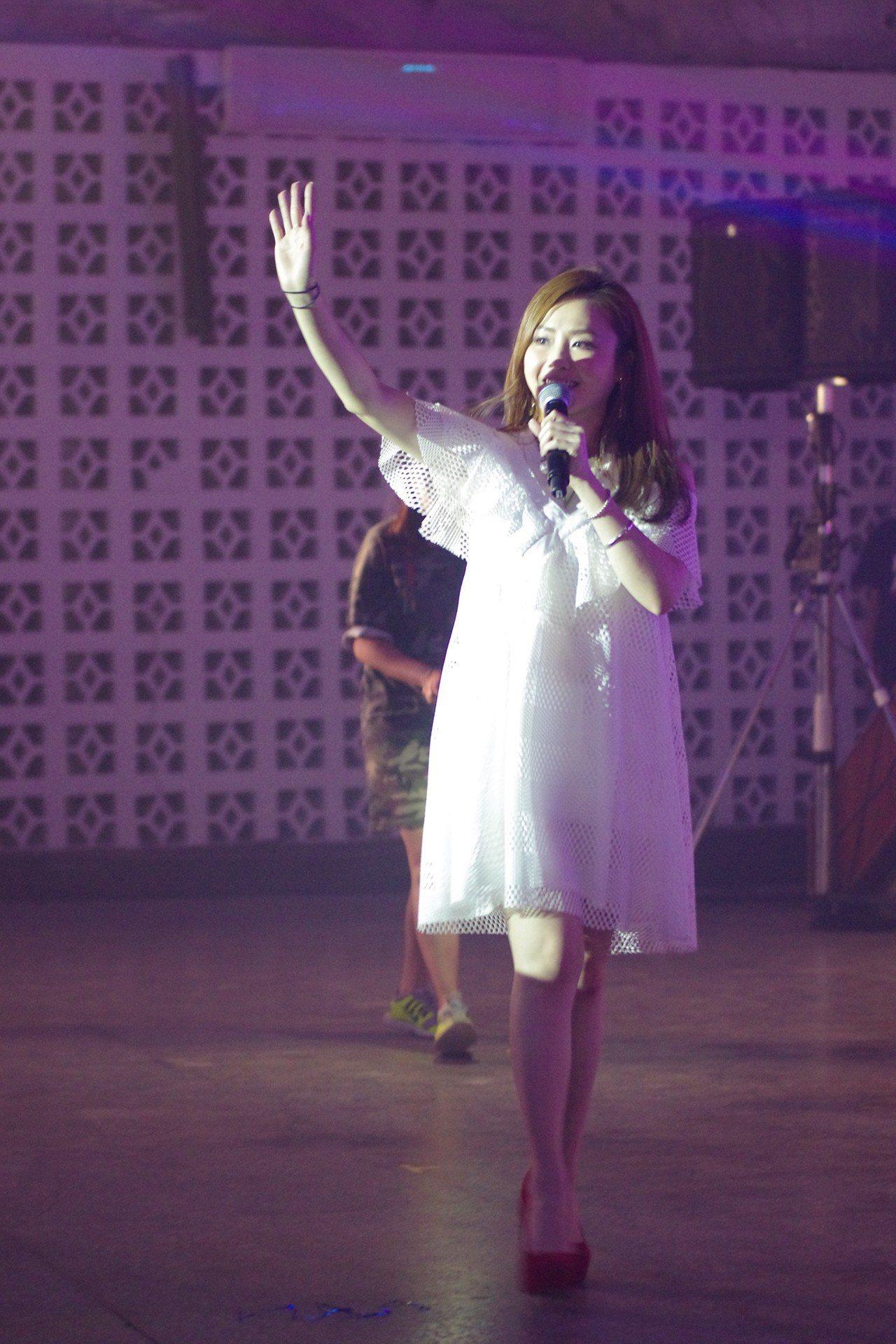歌手吳淑敏。記者程嘉文/攝影