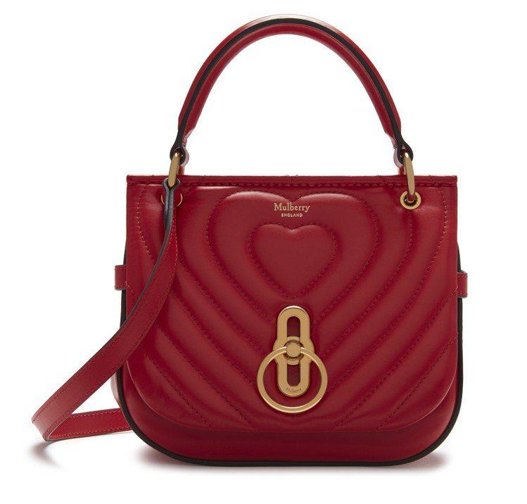MULBERRY七夕寶石紅Small Amberley,售價35,700元。圖/...