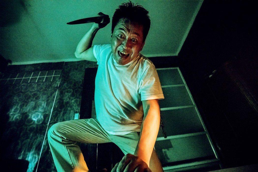 庹宗華在「九月四號」戲中演出一名殺人魔。圖/緯來電影台提供