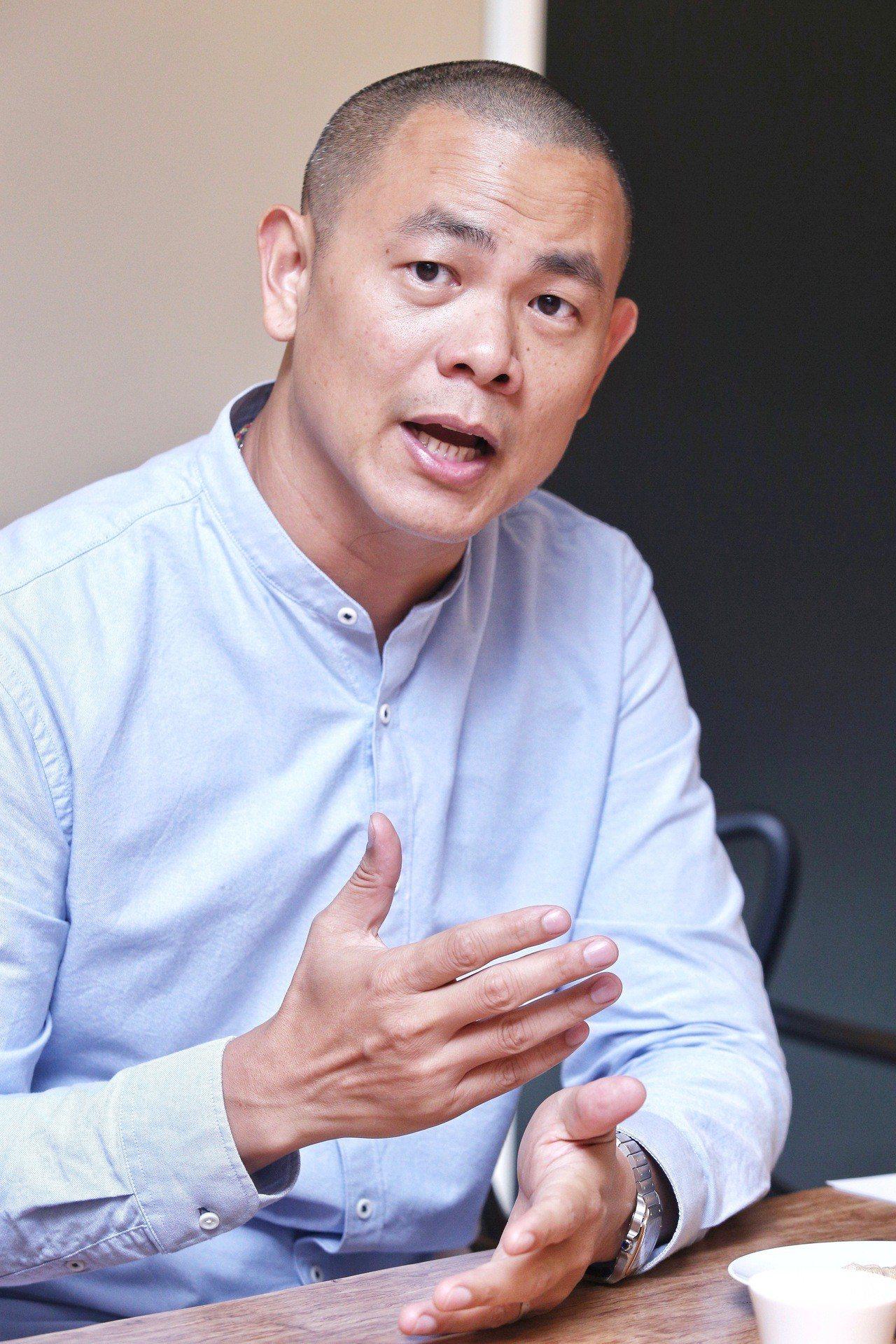 江振誠計畫未來2到3年內將籌辦廚藝學院。記者林柏東/攝影