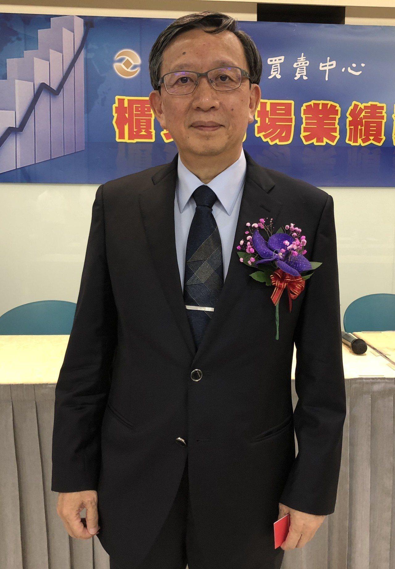 健喬信元董事長林智暉親自發表公司業績展望,是十年來首度親自出席櫃買業績發表會。記...