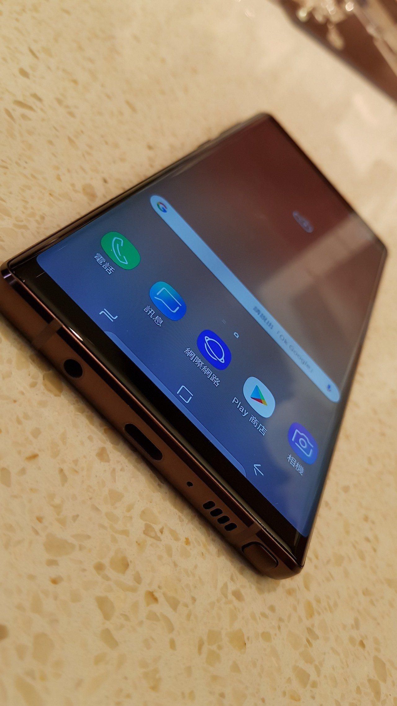 三星今晚最新發表下半年旗艦機Galaxy Note 9。記者鄒秀明攝影