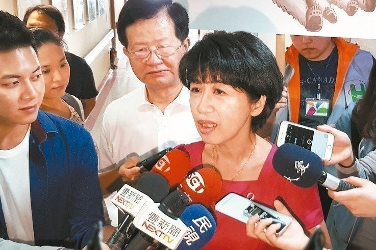 北市長柯文哲妻子陳佩琪(中)。 圖/聯合報系資料照片
