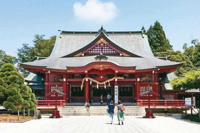 已有1,300年歷史的笠間稻荷神社,與京都伏見稻荷大社、佐賀祐德稻荷神社並列日本...