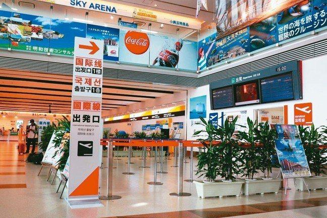 今年3月底,虎航開通茨城空港與桃園機場的直飛航班,周一早去、周四晚回。 圖/陳志...