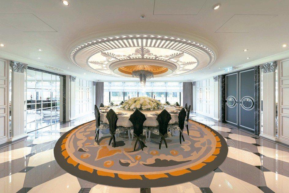 遠雄錸儷設有私家宴會廳,提供住戶邀請親朋好友團圓聚餐。 康堃皇/攝影