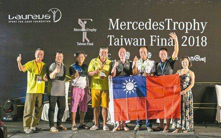 7位優勝選手將代表台灣區前往澳洲布里斯本參與亞洲區決賽。 圖/陳志光、台灣賓士
