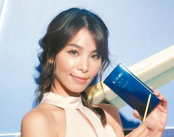 三星發表Galaxy Note 9。 記者何佩儒/攝影