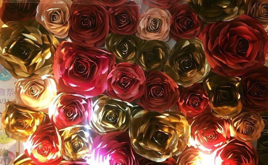 到夏都城旅過七夕,讓愛情有如玫瑰般繽紛美麗。  夏都城旅 提供