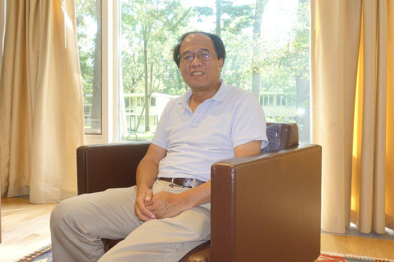 美國麻省理工學院(MIT)華裔物理學家文小剛。 記者謝哲澍攝影