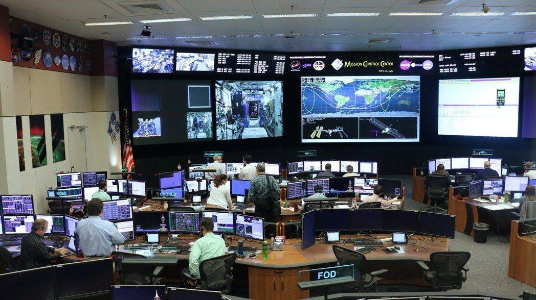 美國太空總署控制中心。路透