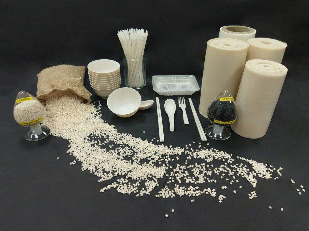 衍鋐機械在2018 TAIPEI PLAS首次發表「植物澱粉複材」,是100%無...
