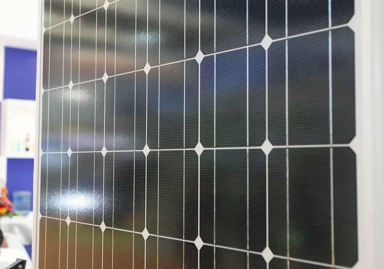 太陽能產業陷入困境。圖/遠見提供