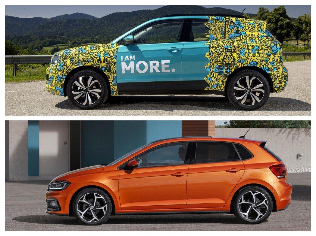全新Volkswagen T-Cross與Polo都是採用MQB A0模組化底盤。 摘自Volkswagen