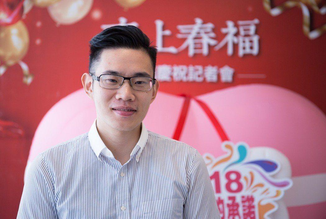 春福建設總經理鄭君寰年輕有為,處事有為有守。 攝影/張世雅