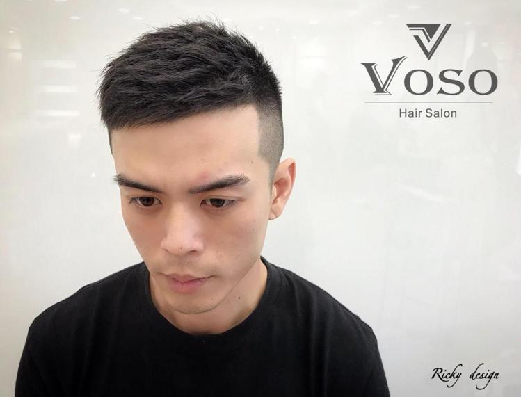 髮型創作/ Zhong Ricky。圖/StyleMap提供
