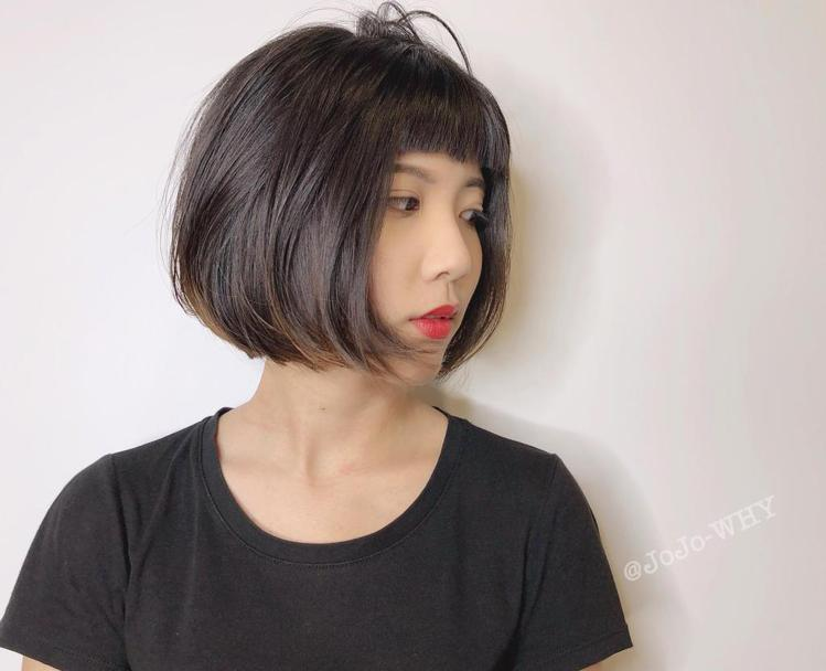 髮型創作/JoJo。圖/StyleMap提供