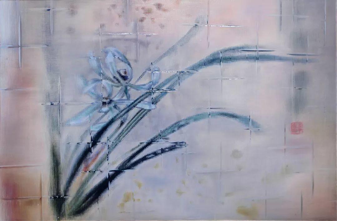 李吉祥 牆上的品味 油彩畫布 146 x 97.5 cm 2016