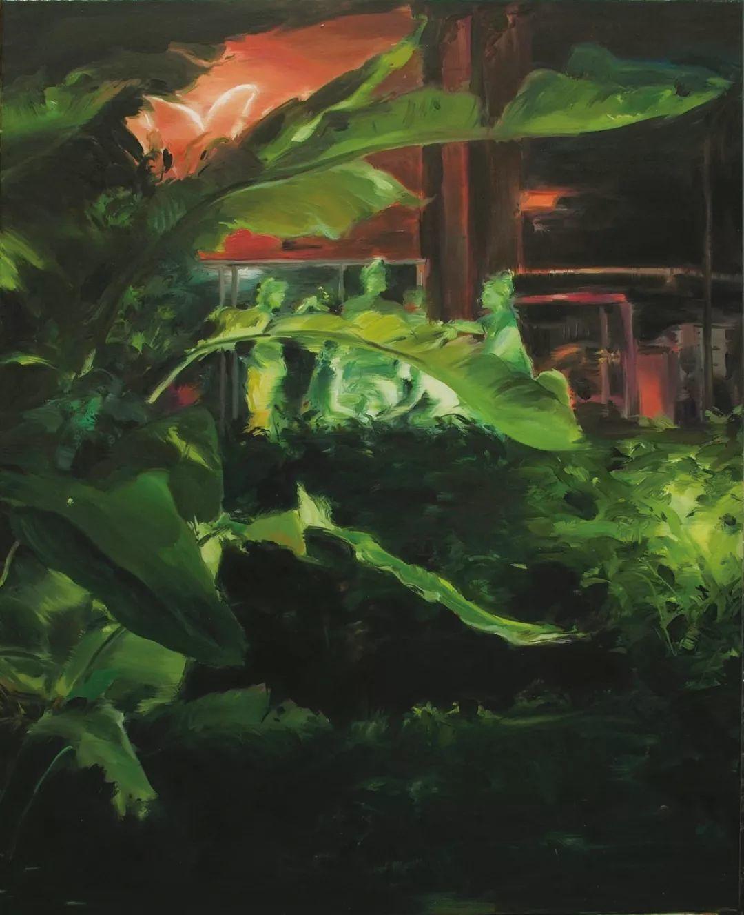 鄒享想 A206 油畫顏料、畫布 65 x 80 cm 2017